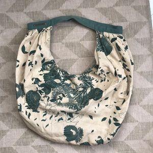 Diesel Linen Hobo Bag Green